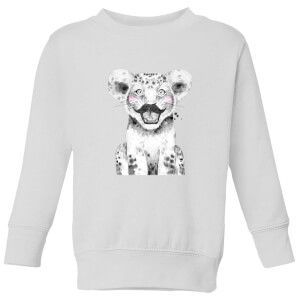 Moustache Cub Kids' Sweatshirt - White