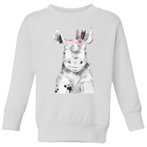 Indie Rhino Kids' Sweatshirt - White