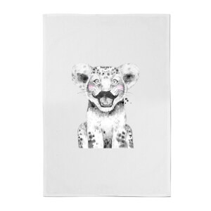 Moustache Cub Cotton Tea Towel