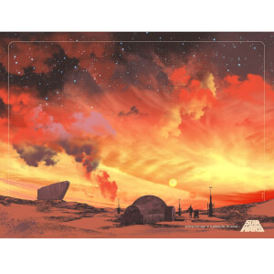 Star Wars Binary Sunset Lithograph by Guy Stauber
