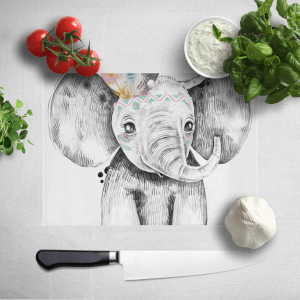 Indie Elephant Chopping Board