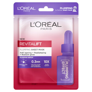 L'Oréal Paris Revitalift Plumping Sheet Masks (Pack of 5)