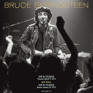 Bruce Springsteen - FM Studios Live In Houston Sept 3rd 1974 & In Boston Oct 1st 1973 (Red Vinyl)
