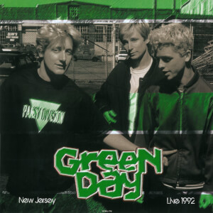 Green Day - Live In New Jersey May 28 1992 WFMU-FM (White Vinyl)