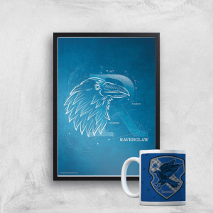 Harry Potter Ravenclaw Mug & A4 Print