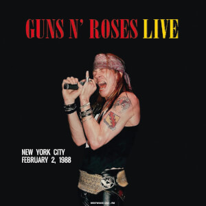 Guns N' Roses - Live In New York City / February 2 1988 (Red Vinyl)