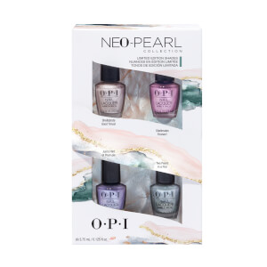 OPI Neo-Pearl Limited Edition Nail Polish 4-Pack Mini Gift Set (4 x 3.75ml)