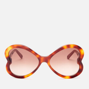 Chloé Women's Bonnie Acetate Sunglasses - Havana/Brown