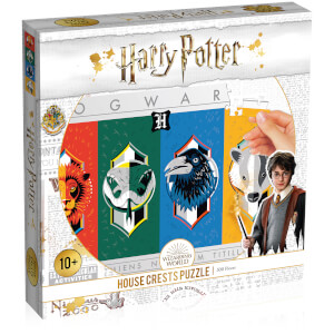 500 Piece Jigsaw Puzzle - Harry Potter House Crests Edition