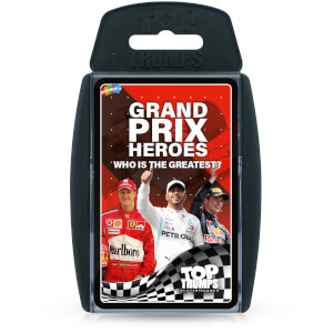Top Trumps Card Game - Grand Prix Edition