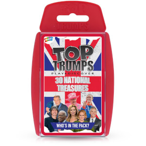 Top Trumps Card Game - National Treasures Edition