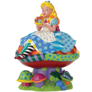 Enesco Disney Britto Alice in Wonderland Figurine 22cm