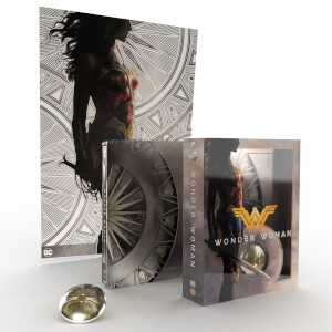 Wonder Woman (Titans of Cult) 4K + Blu-ray 2D - Steelbook Edición Limitada