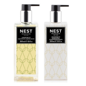 NEST Fragrances Grapefruit Liquid Hand Soap and Lotion Bundle