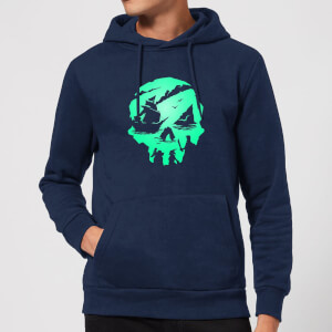 Sea Of Thieves 2nd Anniversary Skull Hoodie - Navy
