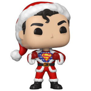 DC Comics Holiday Superman with Sweater Funko Pop! Vinyl