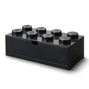 LEGO Storage Desk Drawer 8 - Black