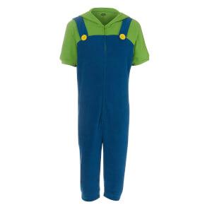 Combinaison Pyjama Super Mario Nintendo Luigi
