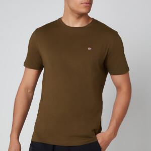 Napapijri Men's Selios 2 Flag T-Shirt - Green Way