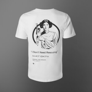 Star Wars Princess Leia Unisex T-Shirt - White