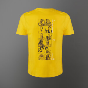 T-shirt Star Wars A New Hope Lineup - Jaune - Unisexe
