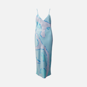 Simon Miller Women's Esmond Abstract Slip Dress - Blue