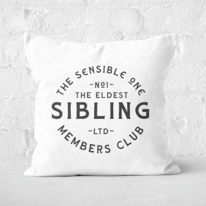 The Eldest Sibling The Sensible One Square Cushion