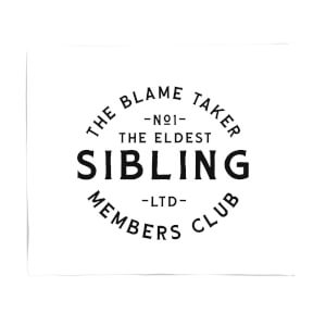 The Eldest Sibling The Blame Taker Fleece Blanket