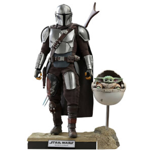 Action Figure The Mandalorian & The Child (Scala 1:6) 30cm Versione Deluxe - Hot Toys