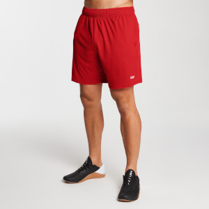 MP Men's Essentials Lightweight Jersey Training Shorts - Danger
