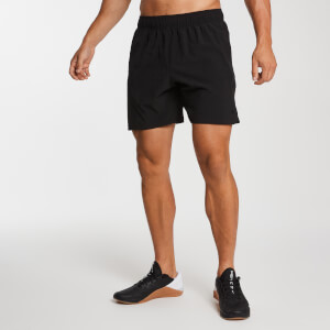Essential Woven Training Shorts - Svart