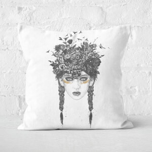 Summer Queen Cushion Square Cushion