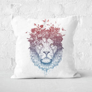 Floral Lion 2 Cushion Square Cushion