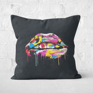 Colorful Lips Cushion Square Cushion