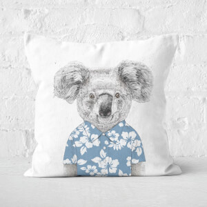 Summer Koala Blue Cushion Square Cushion