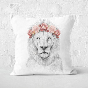 Festival Lion Cushion Square Cushion