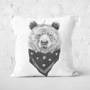 Wild Bear Cushion Square Cushion