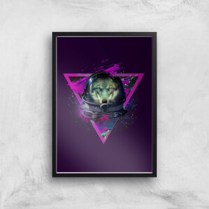 Lonely Astronaut Giclee Art Print