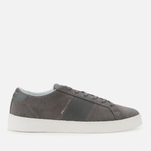 PS Paul Smith Men's Lowe Suede Low Top Trainers - Grey