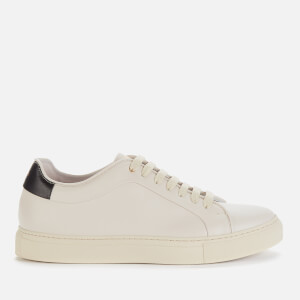 Paul Smith Men's Basso Leather Cupsole Trainers - Ivory