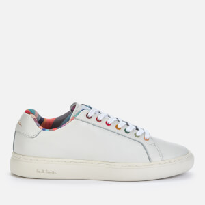 Paul Smith Women's Lapin Leather Low Top Trainers - White