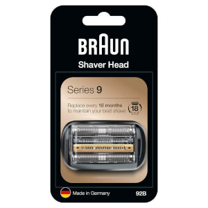 Series 9 92B Electric Shaver Head Replacement - Black
