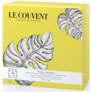 Le Couvent Gift Set Botanical Cologne Aqua Minimes and Amorem Shower Oil Coffret