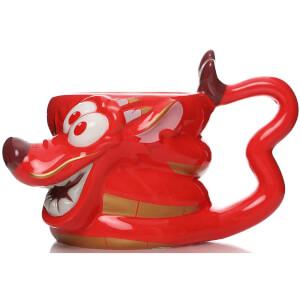 Mulan Shaped Mushu Mug