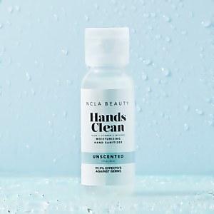 NCLA Beauty Hands Clean Unscented Moisturizing Sand Hanitizer
