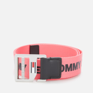 Tommy Jeans Women's Webbing Belt - Pink Mix