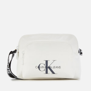 Calvin Klein Jeans Women's Nylon Camera Bag - Bright White