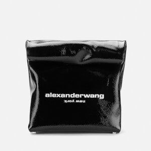 Alexander Wang Women's Lunch Patent Clutch - Black