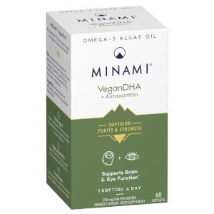 VeganDHA Omega-3 Fish Oil - 60 Capsules