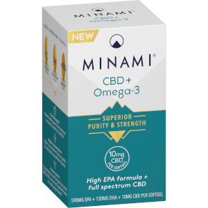 CBD + Omega-3 Fish Oil - 30 Capsules